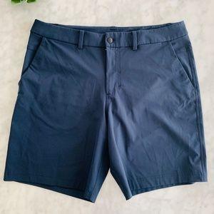 Lululemon ABC Shorts Nautical Navy 36 Casual Golf